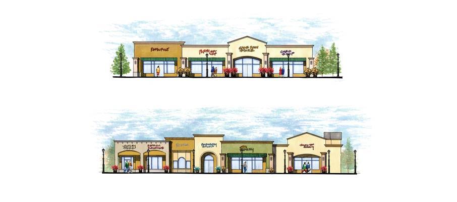 City Block Shopping Center Balfour Road Brentwood, California